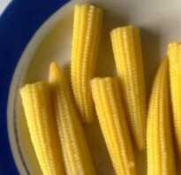 Суп с мини кукурузой