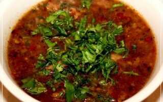 Суп из говяжьих ребрышек рецепт с фото