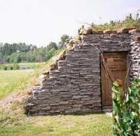 Хранилище для овощей на даче