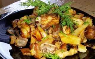 Как приготовить грибы мышата жареные