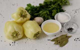 Маринованный красный перец по армянски рецепт
