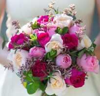 Красивое сочетание роз в букете