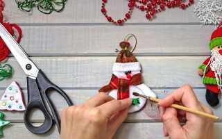 Оплетение новогоднего шарика бисером