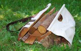 Сумка для переноски дров своими руками выкройки