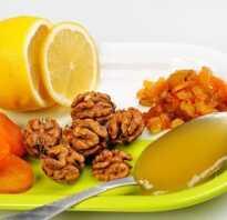 Мед орехи курага изюм лимон для потенции