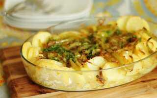 Стейки трески в духовке с картошкой