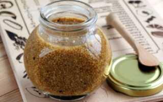 Горчица рецепт приготовления из семян