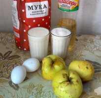 Шарлотка на кислом молоке с яблоками рецепт