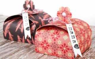 Подарочные коробочки своими руками на новый год