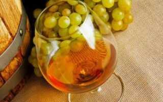 Приготовление коньяка из винограда в домашних условиях