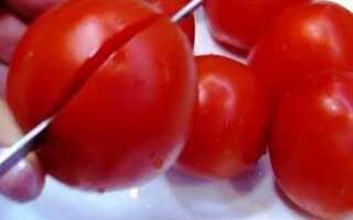 Рецепт тюльпаны из помидор
