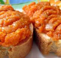 Помидорная икра с морковкой на зиму
