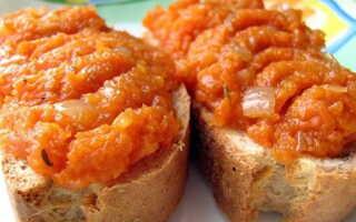 Морковная икра на зиму бабушкин рецепт